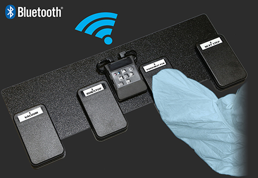 Wireless Four-Way Foot Switch