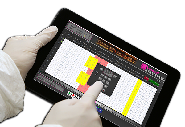 Laurell Control Tablet